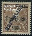 REPUBLICA 2.5c overprint 1v