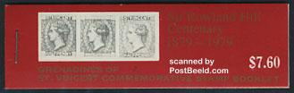 Sir Rowland Hill booklet(contains pairs with birds